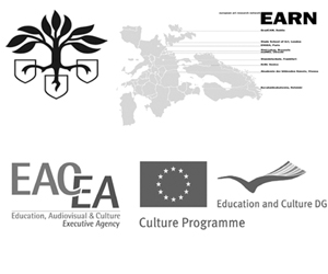 logos kuva, earn and EU-EACEA