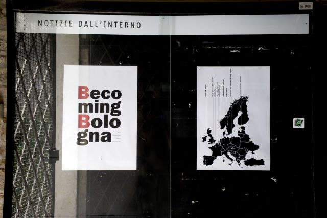 Becoming Bologna/Venice Biennale Poster Exhibition